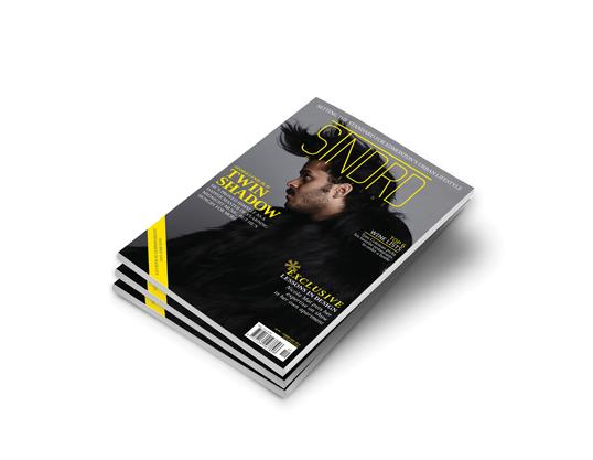 STNDRD Magazine Cover
