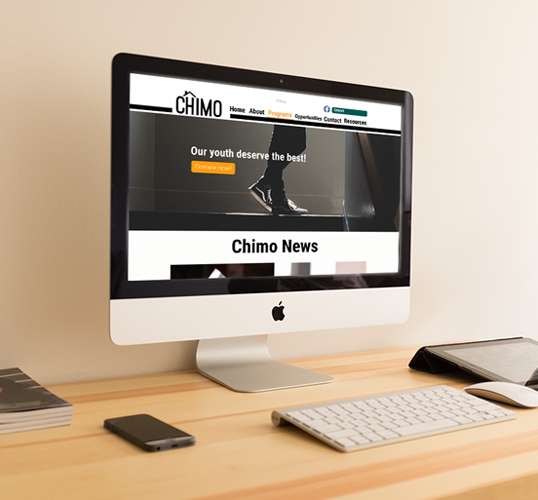 Chimo Website Redesign