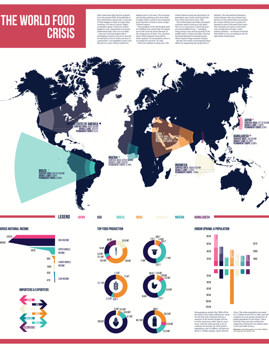 World Food Crisis Infographic
