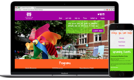 YOUCAN Youth Services Website Redesign