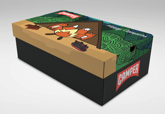 Happy Campers Adventures Packaging Design