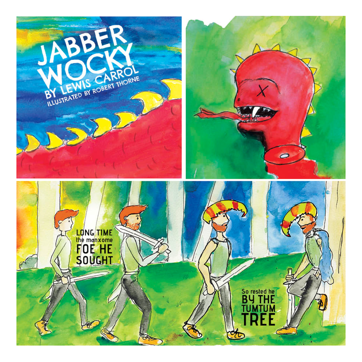 Jabberwocky - Comic Book