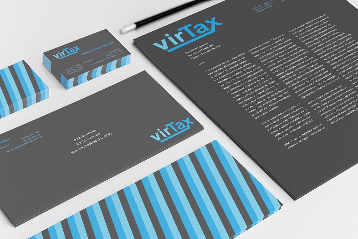 virTax Stationary and Branding