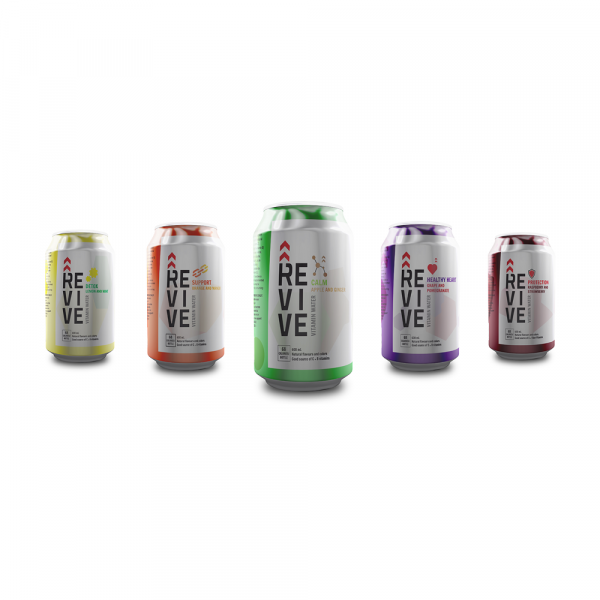 Vitamin Water – Brand Identity & Packaging