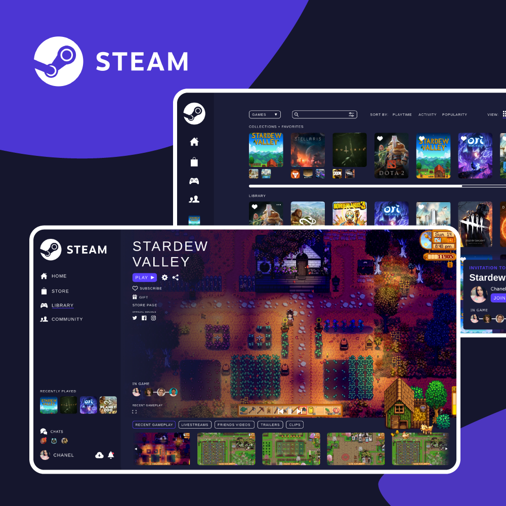 Steam UI Revamp