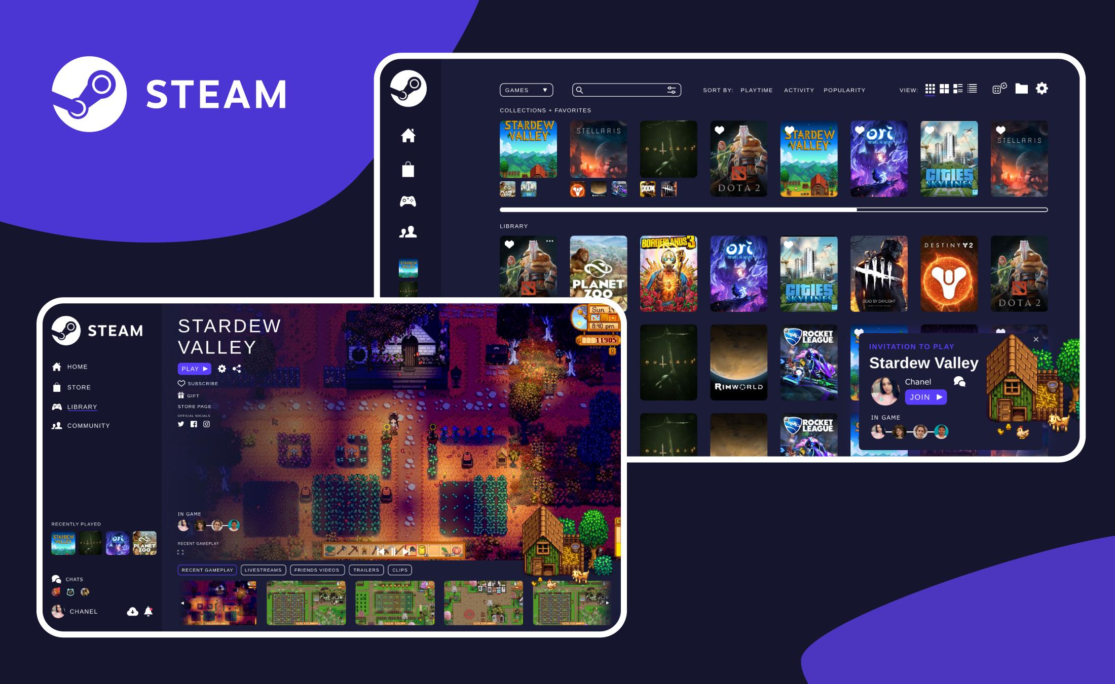 Steam UI Revamp 1